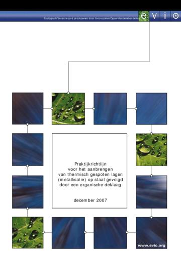 Praktijkrichtlijn thermisch gespoten lagen (metallisatie) op staal + organische deklaag