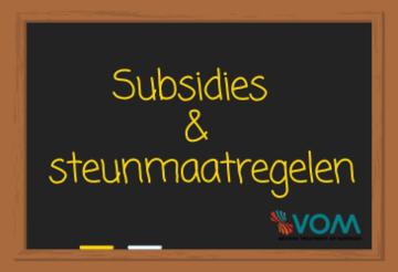 Steunmaatregelen en subsidies voor bedrijven