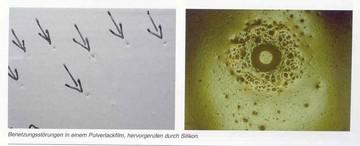 L'hygiène des mains ... très importante mais évitez d'introduire du silicone dans votre atelier de peinture!