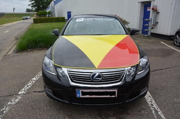 De Belgische driekleur op je wagen zetten? Koud kunstje!