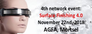 SAVE THE DATE: 4de netwerk event: SURFACE FINISHING 4.0