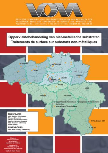 Oppervlaktebehandelingen van niet-metallische substraten in kaart gebracht, juni 2013