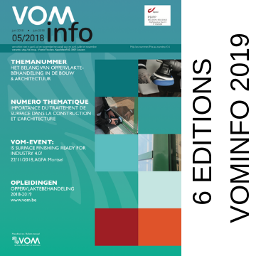 Thema's VOMinfo magazine 2019 gekend