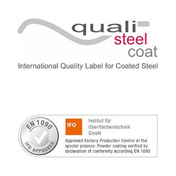 Qualisteelcoat & EN 1090 conformiteitsverklaring