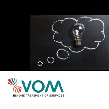 VOM is projectpartner van verschillende onderzoeksprojecten over oppervlaktebehandeling